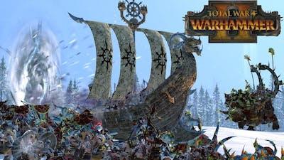 Rush Builds - Norsca & Greenskins vs Lizardmen & Chaos // Total War: Warhammer II Online Battle