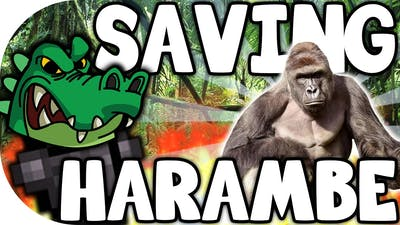 """STREETS OF ROGUE   """"SAVING HARAMBE!""""   STEAM GREENLIGHT/INDIE GAMES"""