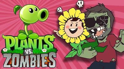 Plants vs Zombies with Audrey! - Grumpcade