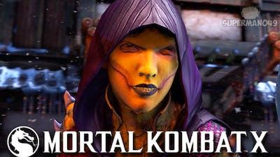 "I Hit Him With The INFINITE... - Mortal Kombat X: ""D'vorah"" Gameplay"