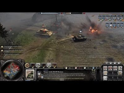 Company of heroes 2 The Western Front Armies Contrataque aleman King Tiger