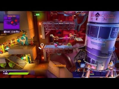 Worms Rumble death match 2nd place