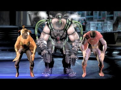 Injustice Gods Among Us All Characters Performs Lex Luthors Victory Celebration Ultimate Edition PC
