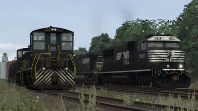 The Norfolk Southern SD60E for Train Simulator 2019