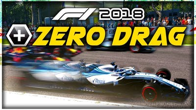What Happens When An F1 Car Has ZERO DRAG?! - F1 2018 Game Experiment