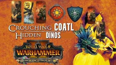 Crouching Coatl Hidden Dinosaurs - Lizardmen vs Vampire Coast | Total War Warhammer 2