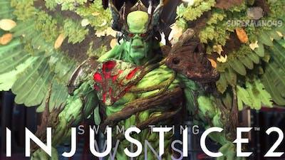 "LEGENDARY SWAMP THING! - Injustice 2: ""Swamp Thing"" Gameplay"