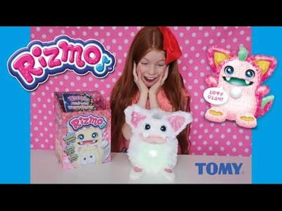 RIZMO MYSTERIOUS EVOLVING TOY - FUN UNBOXING WITH PLAY SONG & DANCE