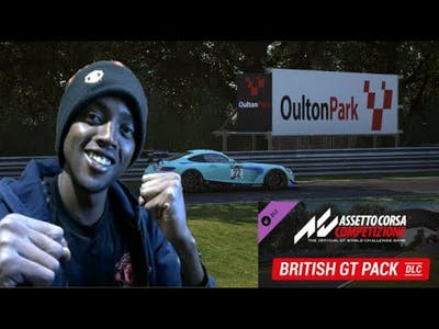 NEW BRITISH GT PACK DLC - OULTON PARK - FIRST QUALI ATTEMPT FIGHTING THE TRACK 11.02.21 - ACC