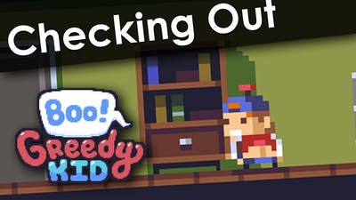 Checking Out • Boo! Greedy Kid on Steam