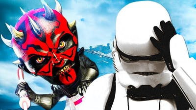 10 STAR WARS Games That SUCKED So Bad They EMBARRASSED The Franchise | Chaos