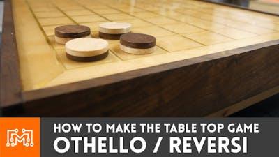 How to make Othello / Reversi (tabletop game)   I Like To Make Stuff