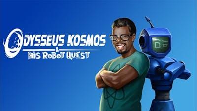 Odysseus Kosmos and Tis Robot Quest Adventure Game Gameplay