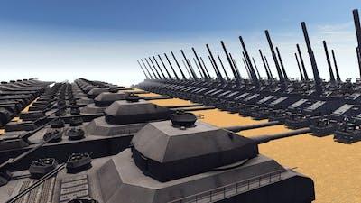 P1000 RATTE vs 800MM GUSTAV GUN - Men of War Assault Squad 2