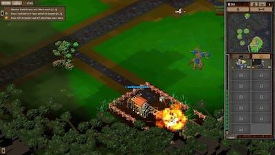 8-Bit Hordes Lightbringers Hard Playthrough - Mission 1 With Live Commentary
