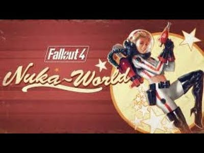 Exploring The Nuka World DLC (Cheats Enabled) Part One My Game Crashes