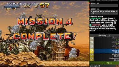 Metal slug 2 easy speedrun 14min 51sec (WR)