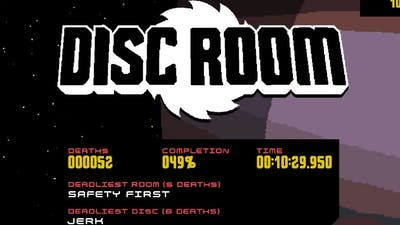 Disc Room any% speedrun - 10:29.950 IGT (Previous WR)