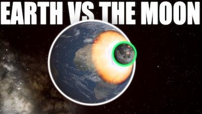 Earth VS The Moon | Universe Sandbox