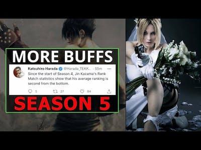 Is Harada Eluding To More Buffs In Tekken 7 Season 5 | Nina & Anna In Tekken 8