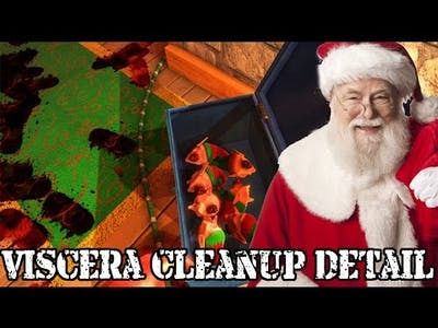 CHRISTMAS IS CANCELLED | Viscera Cleanup Detail: Santa's Rampage