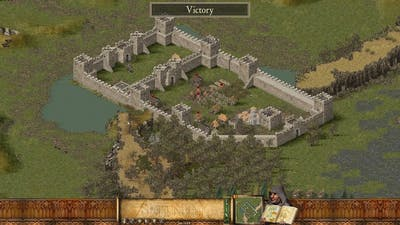 Stronghold HD - Military Campaign 15 - Carving a Path [very hard]