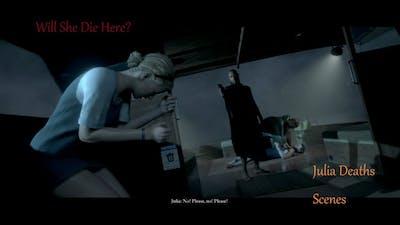 Julia Deaths Scenes : Man Of Medan The Dark Pictures Anthology Game Movie