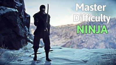 HITMAN 2 Master Difficulty Hokkaido - Silent Ninja New Route | Silent Assassin Suit Only