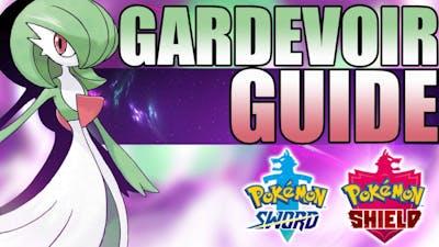 How to use Gardevoir in Pokemon Sword and Shield! Gardevoir Moveset Guide!
