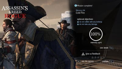 Assassin'S Creed Rogue Mission#23 Cold Fire 100% Memory Sync