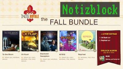 Notizblock: Indie Royale Fall Bundle [Deutsch / HD]
