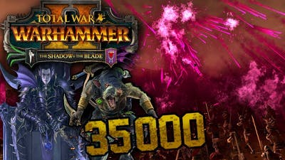 The Largest Shadow & The Blade Battle - Total War: WARHAMMER 2