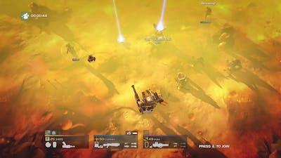 Helldivers - Punisher + Commando vs Bugs