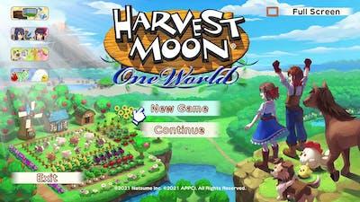 Harvest Moon One World Bikin Nostalgia Guys..... Wkwkwkw