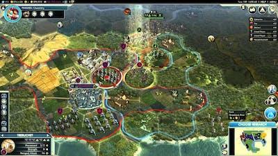 Let's Play Civilization V - Sejong #2d Allies Appear