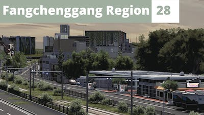 Double Bus Stop | Cities Skylines | Part 28 | Fangchenggang Region | English [Eng]