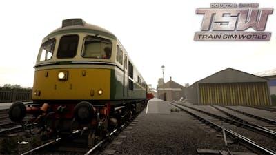Pit Stop (1080p60FPS)- Train Sim World (West Somerset DLC)