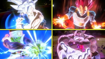 Dragon Ball Xenoverse 2 : All DLC Characters Ultimate Attacks [w/Legendary Pack1] NO HUD