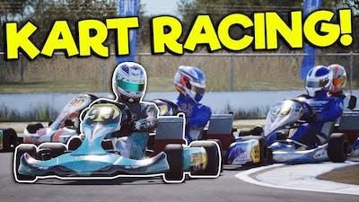 KART RACING CRASHES & 600K UPDATE! - KartKraft Gameplay First Look