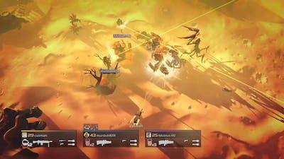 Helldivers - A/AC-6 Tesla Tower vs Bugs (Kepler Prime)