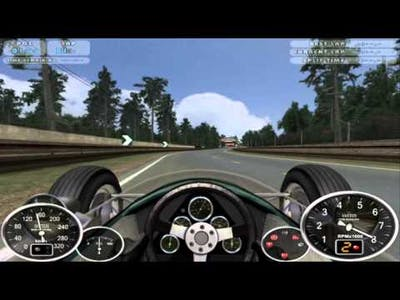 F1 1964 Cooper T73 mod for GT Legends game (first mod footage)
