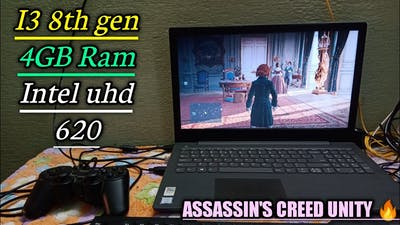 Assassin's creed unity Game tested on low end pc i3 8GB Ram & Intel uhd 620 Smooth settings 😍 