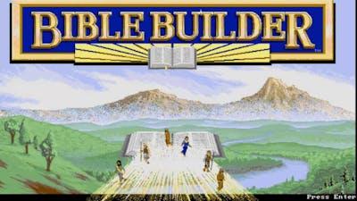 Bible Builder - DOS - 1992