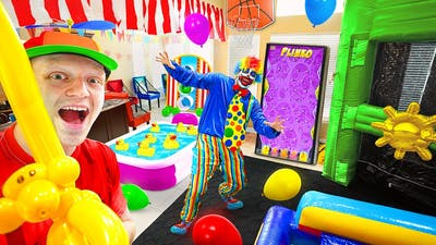 TURNING MY HOUSE INTO A CARNIVAL!
