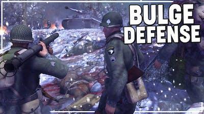 BAND of BROTHERS DEFENDING the BULGE   MoWAS 2 Robz Realism BASTOGNE DEFENSE