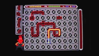 Atari ST Arcade - Marc Plays Pipe Dream AKA Pipe Mania - Gameplay