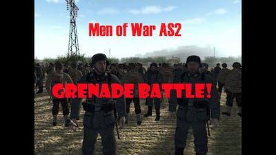 Men of War Assault Squad 2- Grenade Battle (Robz Realism Mod)