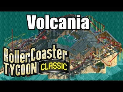 Roller Coaster Tycoon Classic - Volcania