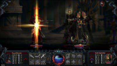 Iratus: Lord of the Dead - Fallen Dhampir solo BOSS Grand Magister