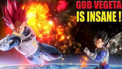 The Fiery Prince Super Saiyan God Vegeta - Dragon Ball Xenoverse 2 Ultra Pack 1